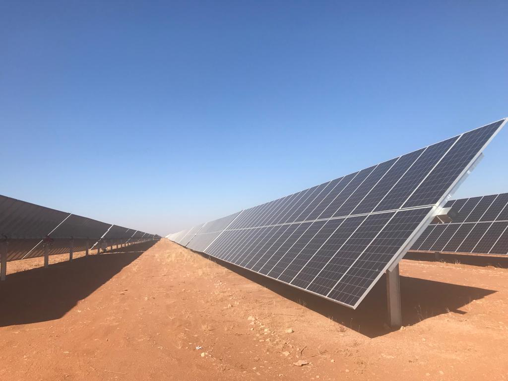 Commissioning of Namibia's largest solar power plant
