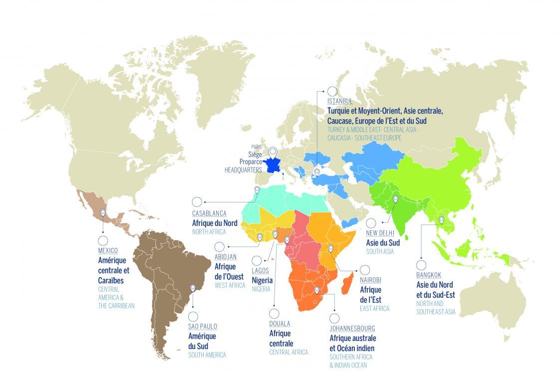 Carte Europe Du Sud Est.Europe Proparco Groupe Agence Francaise De Developpement