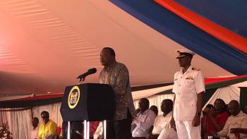 Commissioning ceremony for Lake Turkana- President Kenyatta
