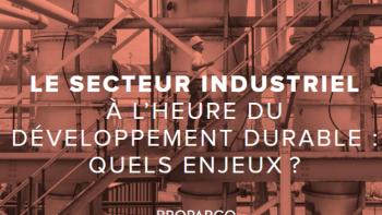 Le secteur industriel à l'heure du développement durable : quels enjeux ?