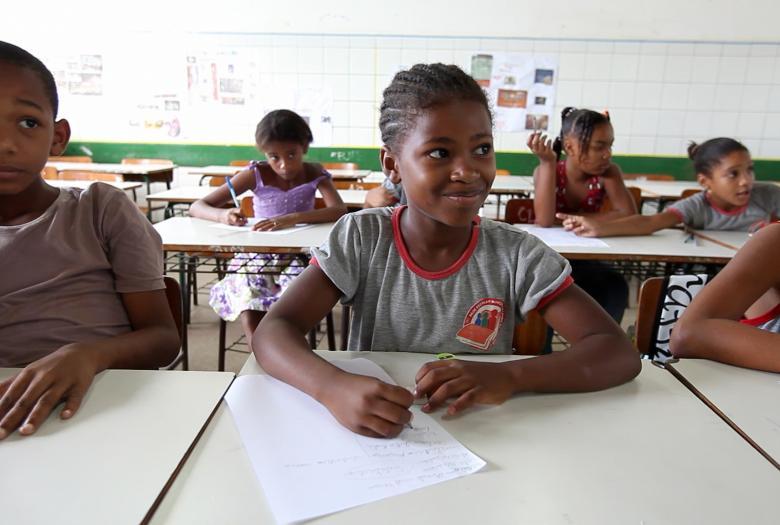 enfants, école, Brésil, éducation