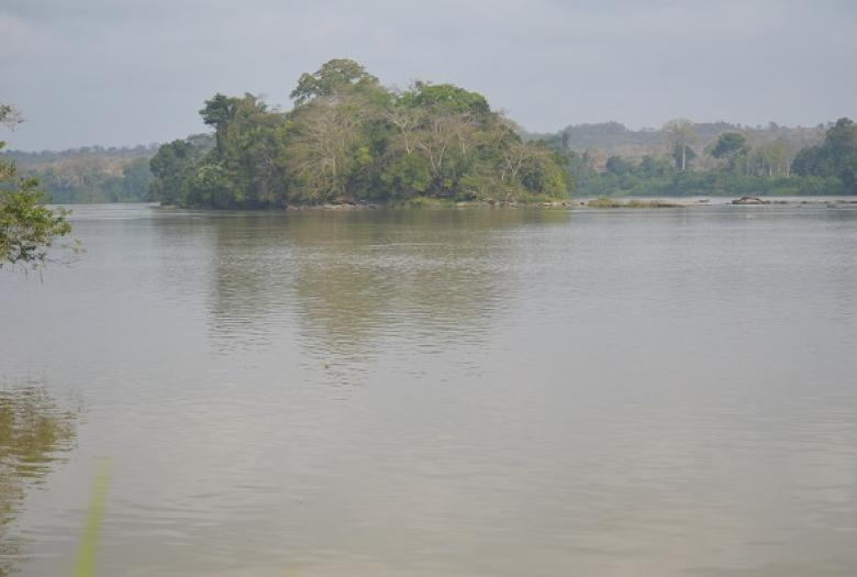 Site barrage Nachtigal, cameroun