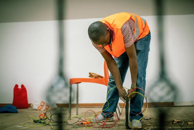 electrician, africa
