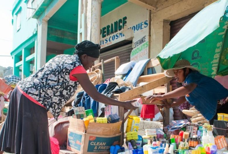 Clientes de l'institution de microfinance ACME