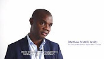 3 questions à Matthew Boadu Adjei