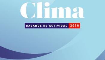 Clima - Balance de actividad 2018 de la AFD