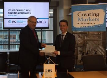 Proparco-IFC MoU Signing Ceremony
